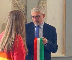 Offida, Luigi Massa e Giorgia Grandoni
