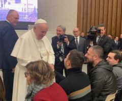 Locanda Centimetro Zero, Papa Francesco