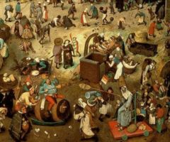 Lotta tra Carnevale e Quaresima Bruegel il Vecchio
