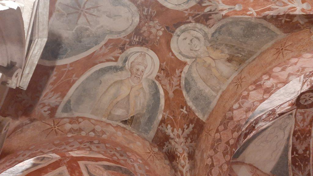 Affresco cripta duomo Ascoli Piceno - Masterplan Terremoto Marche