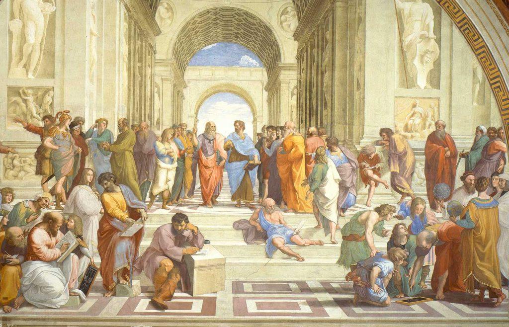 Raffaello La scuola di Atene