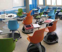 scuola marche banchi monoposto
