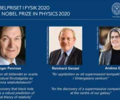 Nobel Fisica 2020