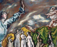 El Greco, L'apertura del quinto sigillo dell'Apocalisse